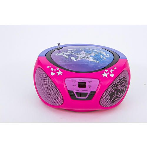 My Little Pony CD Boombox Hot Pink And Purple