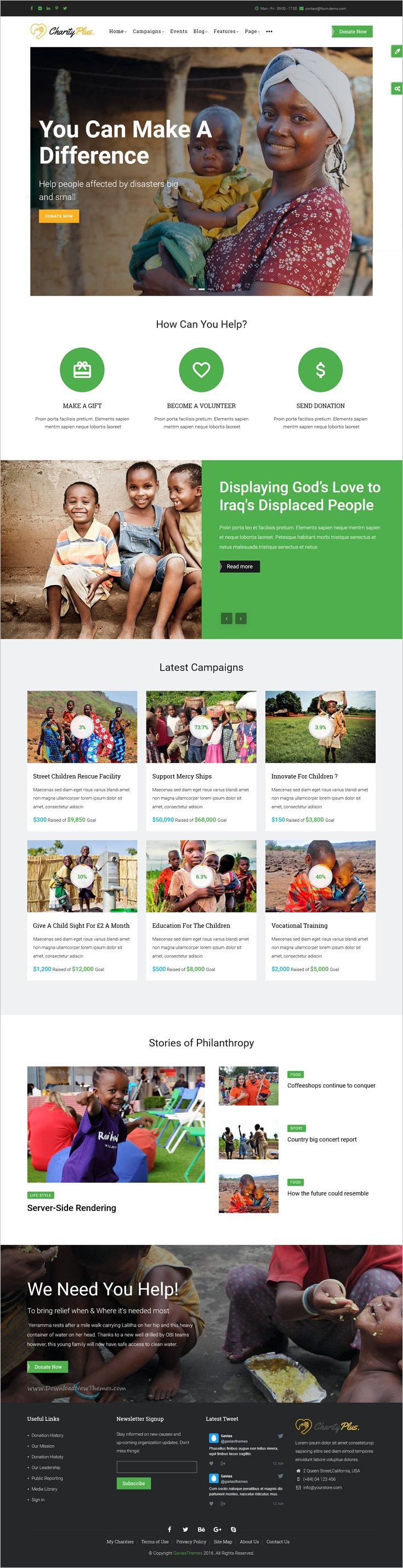 CharityPlus is a wonderful responsive 5in1 #Drupal 8 Template for #webdev Multipurpose #Nonprofit Charity #Organization websites download now➩ https://themeforest.net/item/charityplus-multipurpose-nonprofit-charity-organization-drupal-8-template/19127475?ref=Datasata