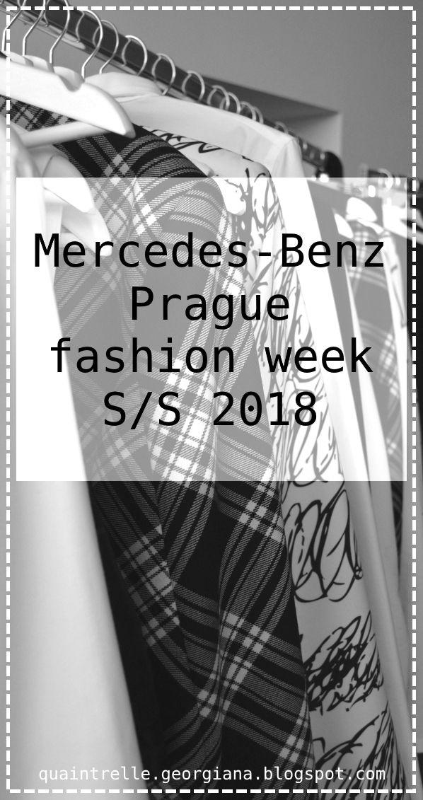 Highlights from Mercedes Benz Prague fashion week (MBPFW), collections for spring / summer 2018   Czech fashion blogger Georgiana Quaint   http://quaintrelle-georgiana.blogspot.cz/2017/09/mercedes-benz-prague-fashion-week-ss.html