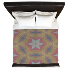 Ann Arbor Chalk 6233 King Duvet