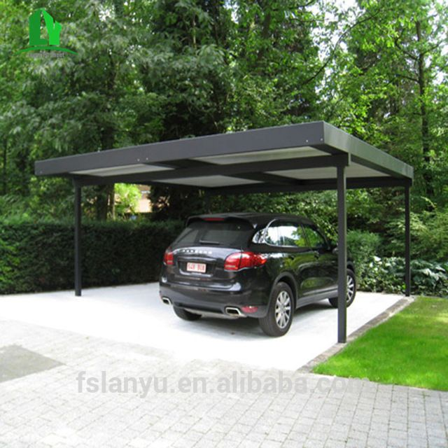 Source Lanyu Powered Retractable Vinyl Carport Pergola Aluminum On