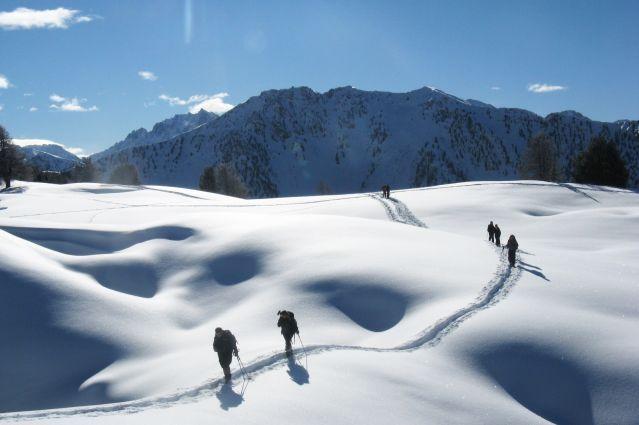 © Marc Laurans - Découverte du ski de randonnée nordique dans le Queyras - France