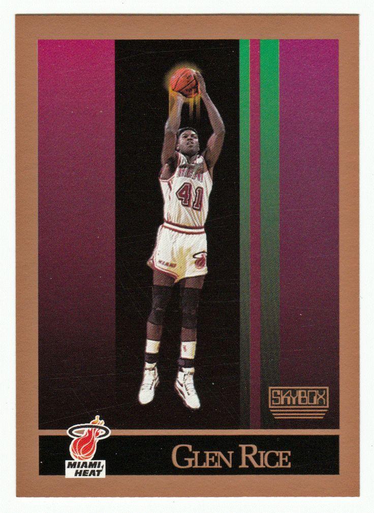 Glen Rice RC # 150 - 1990-91 Skybox Basketball NBA Rookie
