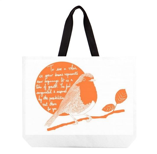 This artwork was inspired by Britain voting the robin as its national bird. Did you know that to see a robin in your dreams is a good omen? Beach bag £15 http://www.artrookie.co.uk/item.php?type=4&id=5063 #fashion #style #beach #bag #accessories #womens #mens #housewarming #goodluck #house #home #robin #bird #garden #instaart #drawing #design #dailysketch #drawingaday #homeware #UK #independentdesigners #British #dreams #cuteanimals #birdvote #quote #inspirational #QOTD #print #holiday