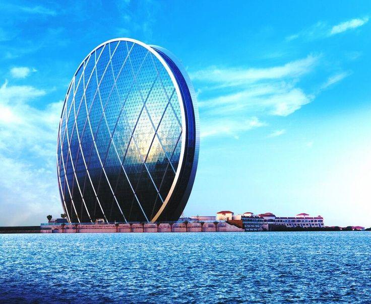 Subir a la Torre Aldar, en Abu Dhabi