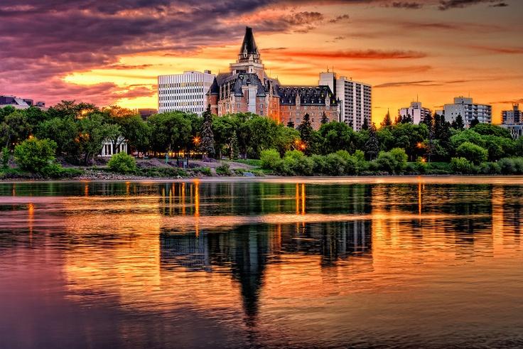 The Delta Bessborough hotel is a ten storey hotel located in downtown Saskatoon, Saskatchewan