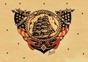 Sailor Jerry Traditional Tattoo Flash