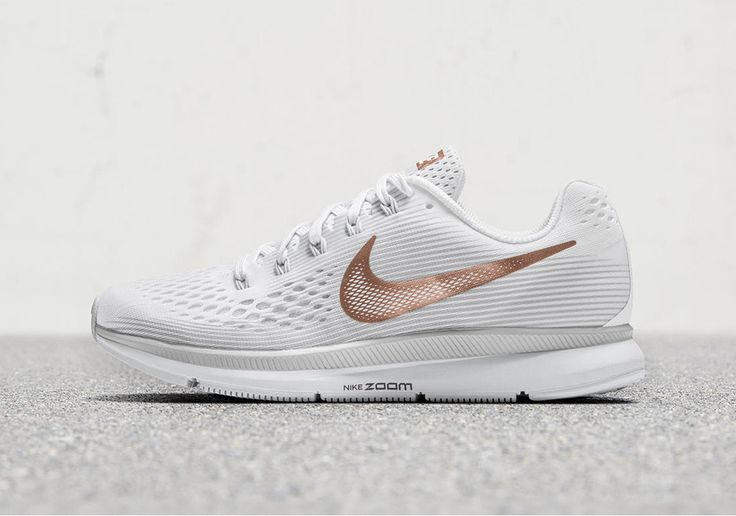 Nike Zoom Pegasus 34 Special Edition Black Gold + White Bronze | SneakerNews.com