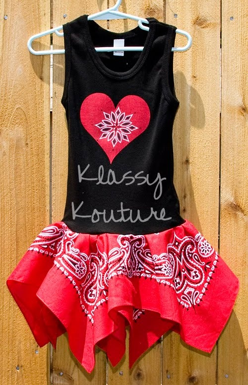 BANDANA DRESS.  cute toddler dress with a tank top and bandana. just needs a pair of cowboy boots!