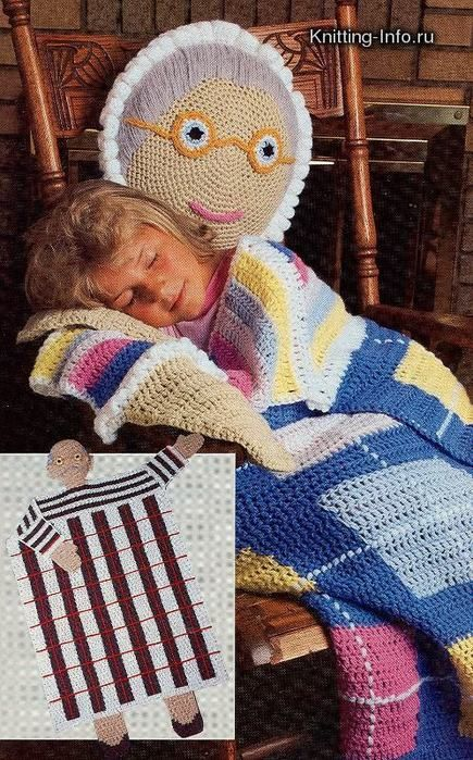 We found this one and loved it. Our grandmas helped us knit our first ever drop off for 50 children in need.