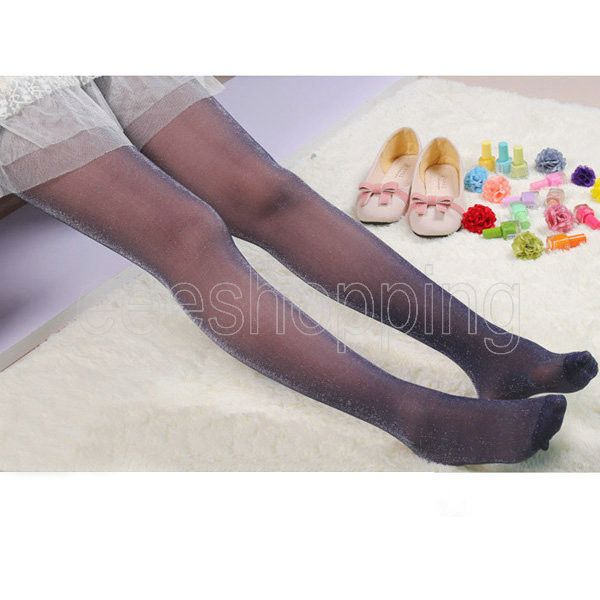 2017 New Arrival Spring Womens Candy Color Female Silver Slim Sexy Lady Stockings Sexy Tights Women Fashion Tight Pantyhose Q769