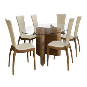 medium serpent dining table