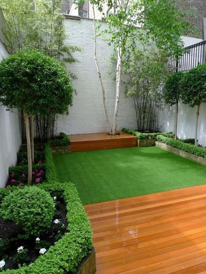 31 good small backyard landscaping ideas on a budget 18 ... on Courtyard Ideas On A Budget id=33213