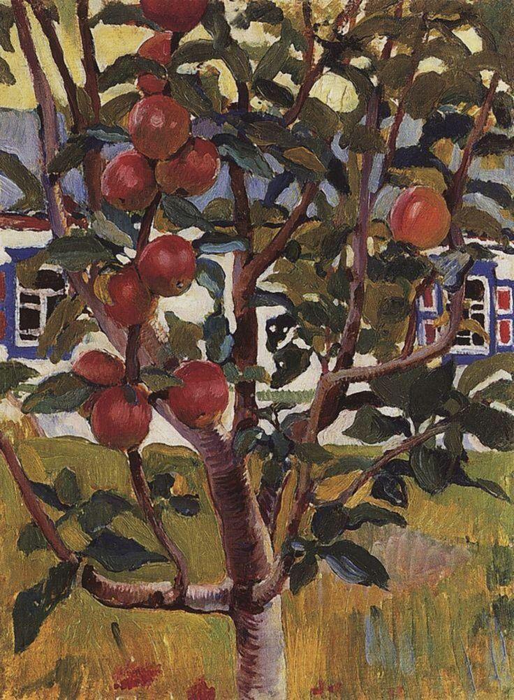 Paintings — Apple Tree, Zinaida Serebriakova