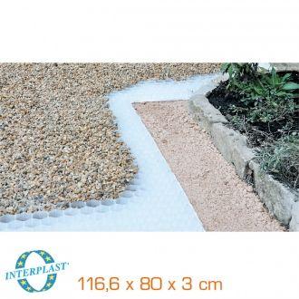 Dalle stabilisatrice pour gravier - 1166 x 800 x 30 mm (soit 0,93 m2)