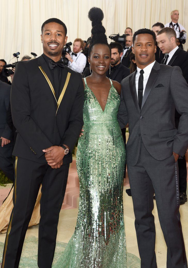 Pin for Later: Feast Your Eyes on All the Handsome Celebrity Guys at the Met Gala Michael B. Jordan and Nate Parker