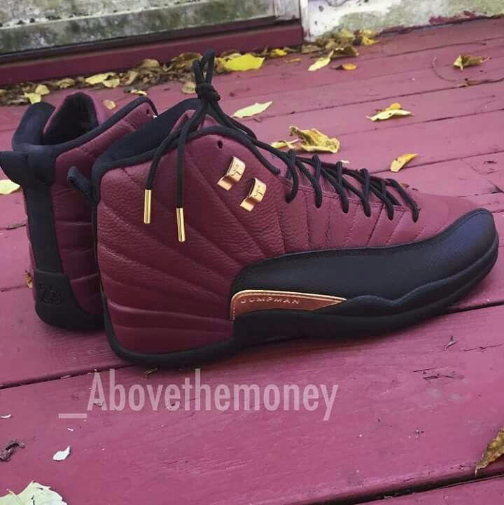 2f753191abc @shadayanaqueen Burgundy 12s #Jordans | ♡ShoeGame♡ in 2019 | Nike shoes,  Shoes, Running shoes nike