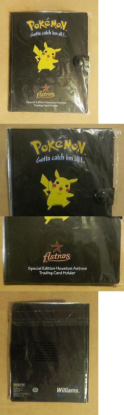 Other Pok mon TCG Items 2608: Rare Vintage Sealed 2000 Houston Astros Pokemon Card Binder Folder Mint Cond. -> BUY IT NOW ONLY: $40 on eBay!