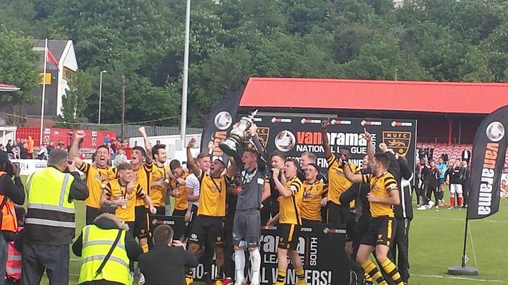 maidstone united National league south play off winners