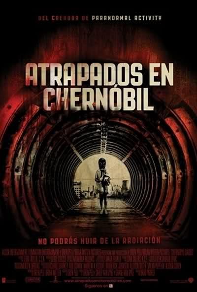 """Póster español de """"Atrapados en Chernobyl"""" - Aullidos.com"""