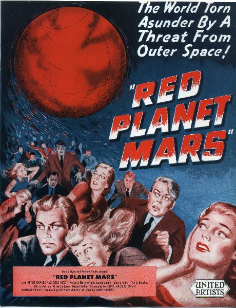 red planet mars 1954 - photo #44