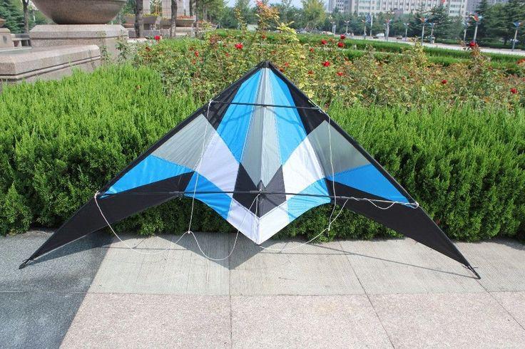 1.8m Power Dual Line Stunt Kite with Handle & Line