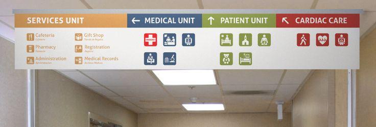 hospital wayfinding system - Google Search