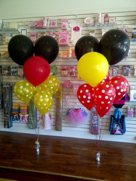 Mikey Mouse inspired balloons!