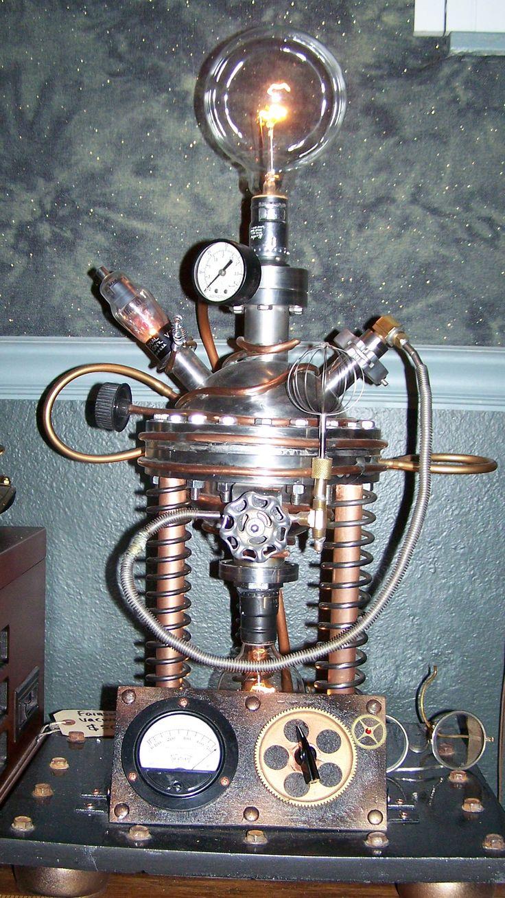 Steampunk Lamp/ J Dooley