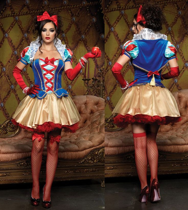 Snow White Costume for Adults | Deluxe Snow Princess Costume - Adult Snow White Costume I like this but worried it may be a tad slutty