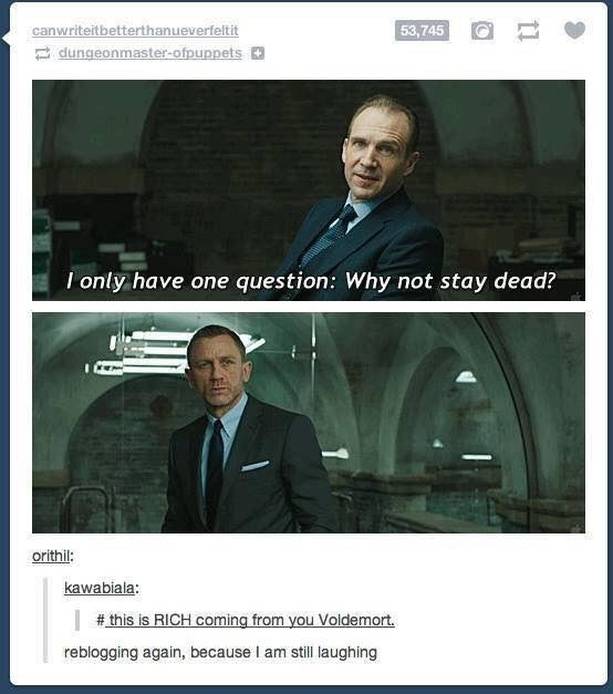 Siriusly Voldemort!? It was your goal in life to become immortals darn it!!