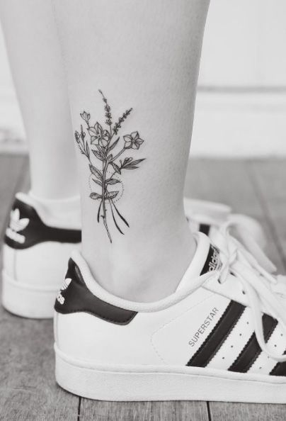Tattoo ideas for women: Ankle tattoo designs for women!