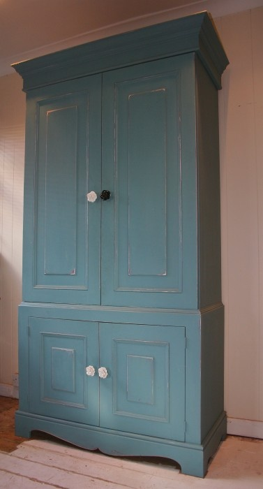 diy armoire redo - like this color