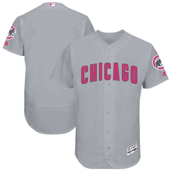 Chicago Cubs Majestic Mother's Day Flex Base Team Jersey - Gray - $195.99 ·  NflMütterBaseballGrauChicago Cubs