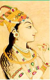Raziya the Sultan (ruled 1236-1240) in her own right for a mere 3 1/2 years after being named her father's heir, in place of her depraved brothers. Though Raziya had to fight her elder brother for the throne & later lost it to her younger brother, she was celebrated for treating her Hindu subjects fairly despite being a Muslim ruler; she was also a patron of the arts. Killed alongside her husband in battle, she remains the only woman to rule India in her own right, as sultan, not sultana.