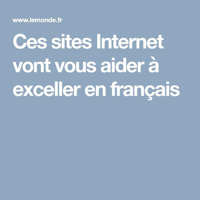 Ces sites Internet vont vous aider à exceller en français
