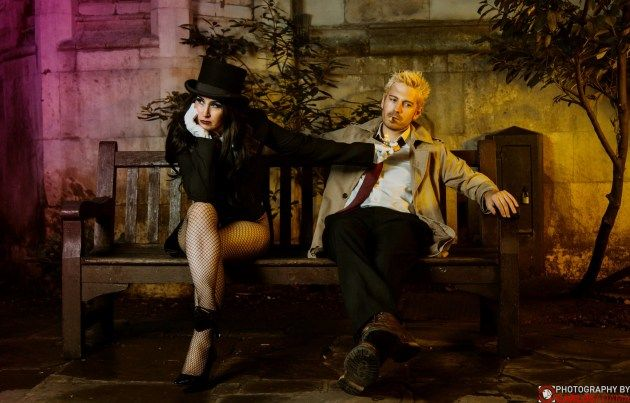 Zatanna et Constantine - Cosplayed by Mojo Jones & Ardent Cosplay, photographed by Carlos Adama Photography