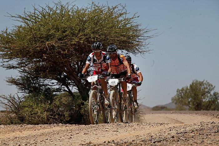 Titan Desert cycling race 2012