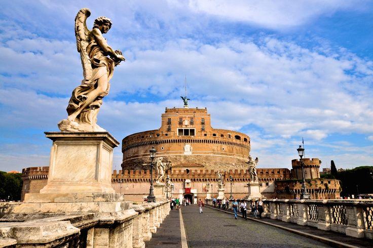 Rom Sehenswürdigkeiten Engelsbrücke