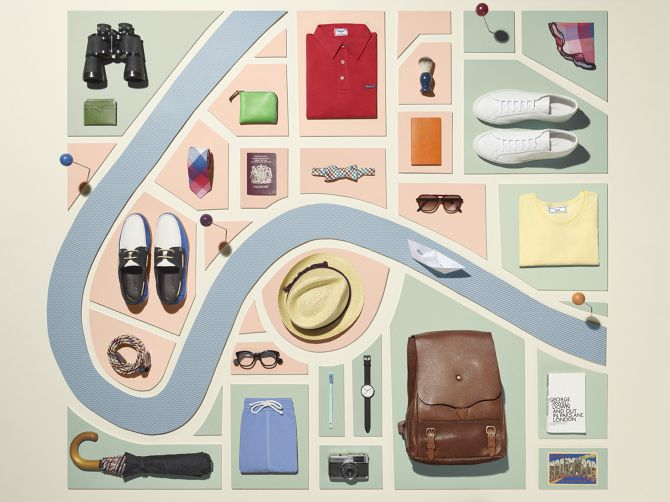 """""""Vacation Style"""" for Mr Porter // COMMERCIAL - Sarah Parker Creative"""