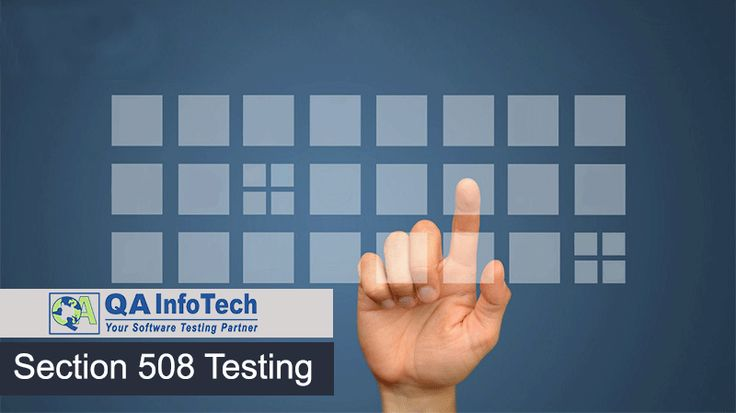 WCAG guidelines and Section 508 compliance are popular #accessibility standards which must be considered while doing in-depth accessibility testing. For #Section508 testing, consult experts- sales@qainfotech.com or visit at http://qainfotech.com/accessibility-testing-services.html