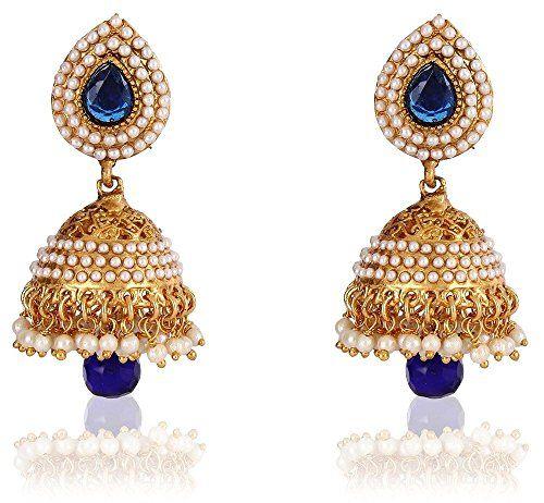 Vvs Jewellers Beautiful Gold Plated White Pearls Polki Bl... https://www.amazon.com/dp/B01L8P1TSC/ref=cm_sw_r_pi_dp_x_3ik-yb3FKC4M8