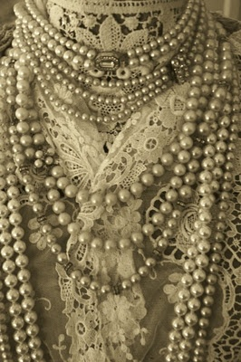 I love my pearls, can't get enough and my hubby knows it too.