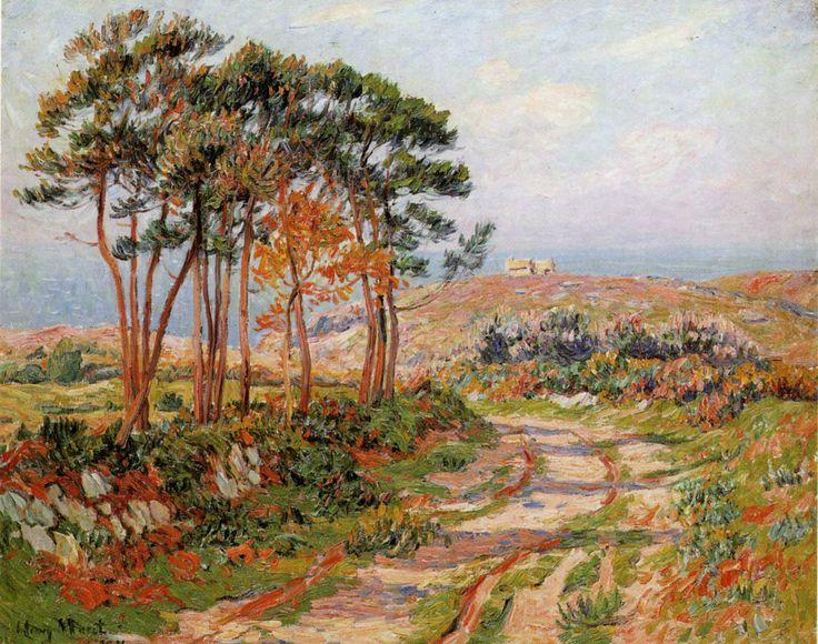 Henry MORET:  LANDES DE BEUZEC.