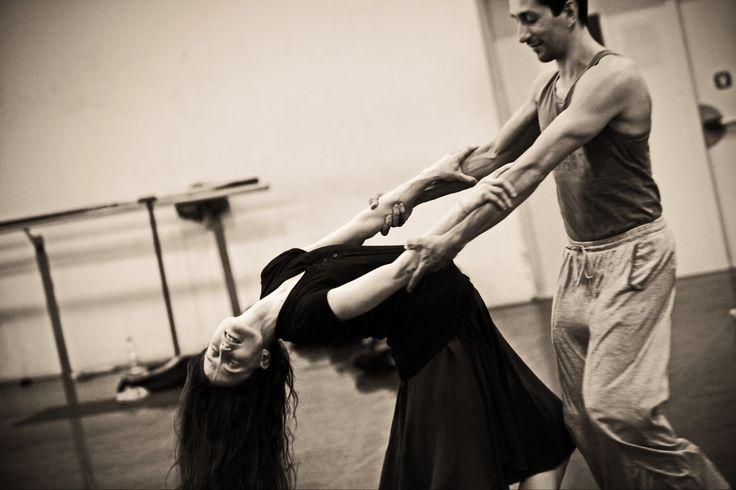 Stefania Ballone & Fabio Saglibene rehearsing L'altra metà del cielo - 2012/2013 Season http://www.youtube.com/watch?v=tWYQK_ccCww
