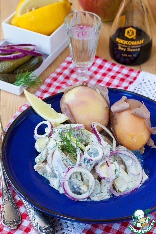 Мещанский селедочный соус - кулинарный рецепт