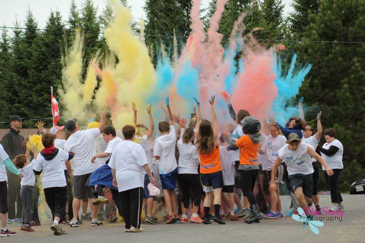 SHS Colour Run.