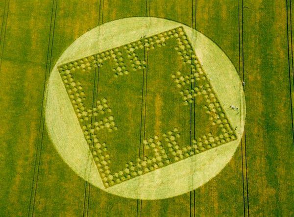 Ufo Cerchi Nel Grano Crop-Circle 12