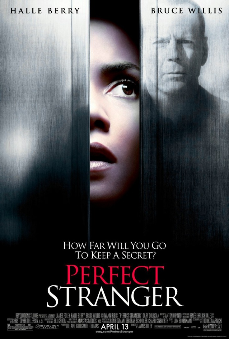perfect stranger halle berry bruce willis movie :)