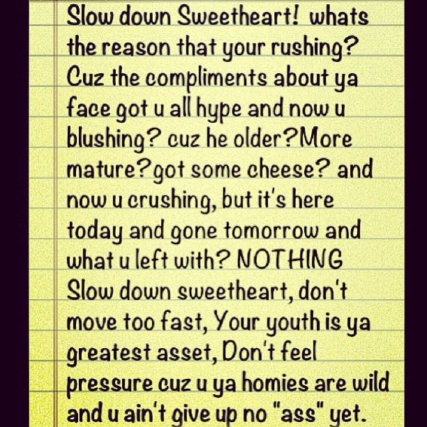 #tbt #justwords my first poem. - @justmike_ Words by Mike Reid